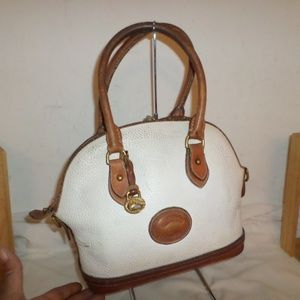 DAMAGED DOONEY AND BOURKE SATCHEL #5